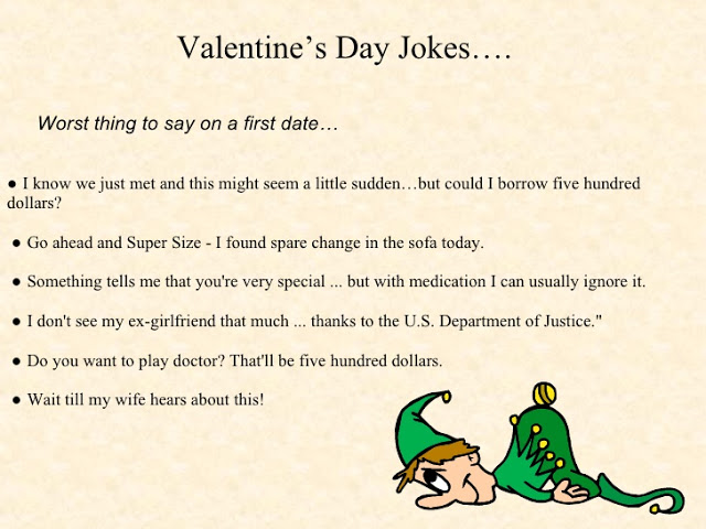 Valentines Day Jokes in English