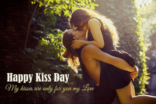 Happy Kiss Day Beautiful Wallpapers Download