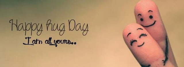 Happy Hug Day Facebook Cover Picture Download