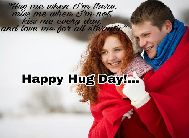 Happy Hug Day Images for Lovers