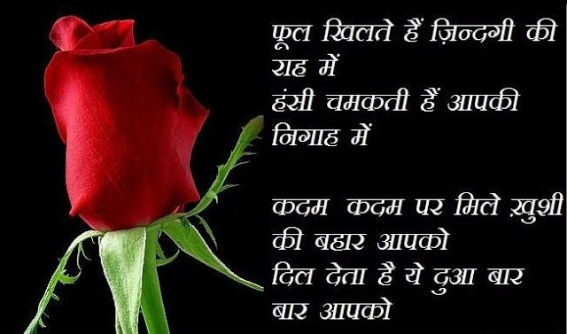 Hindi Shayari on Gulab