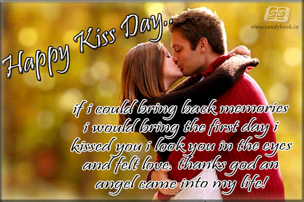 Happy Kiss Day Messages Images