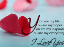 valentines day love wishes for her / girlfriend