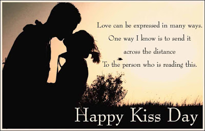 Happy Kiss Day Whatsapp DP for Girlfriend