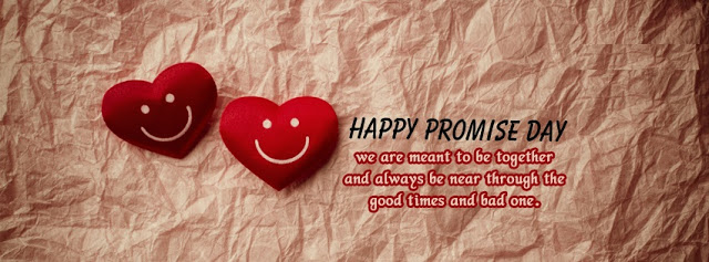 Happy Promise Day Facebook Cover Photo for Wife