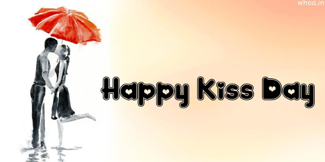 Happy Kiss Day Wallpapers for Facebook Cover 2018