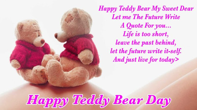 Teddy Bear Day 2018 Messages with Images