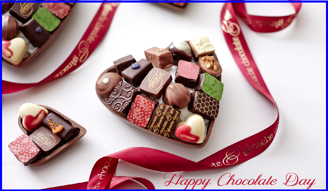 Happy Chocolate Day 3D Picture