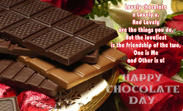 Happy Chocolate Day Images with Message