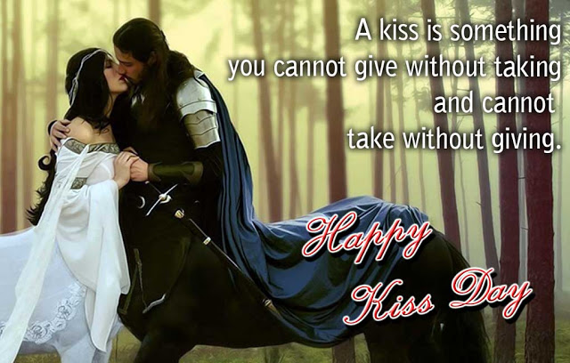 Happy Kiss Day Pictures with message