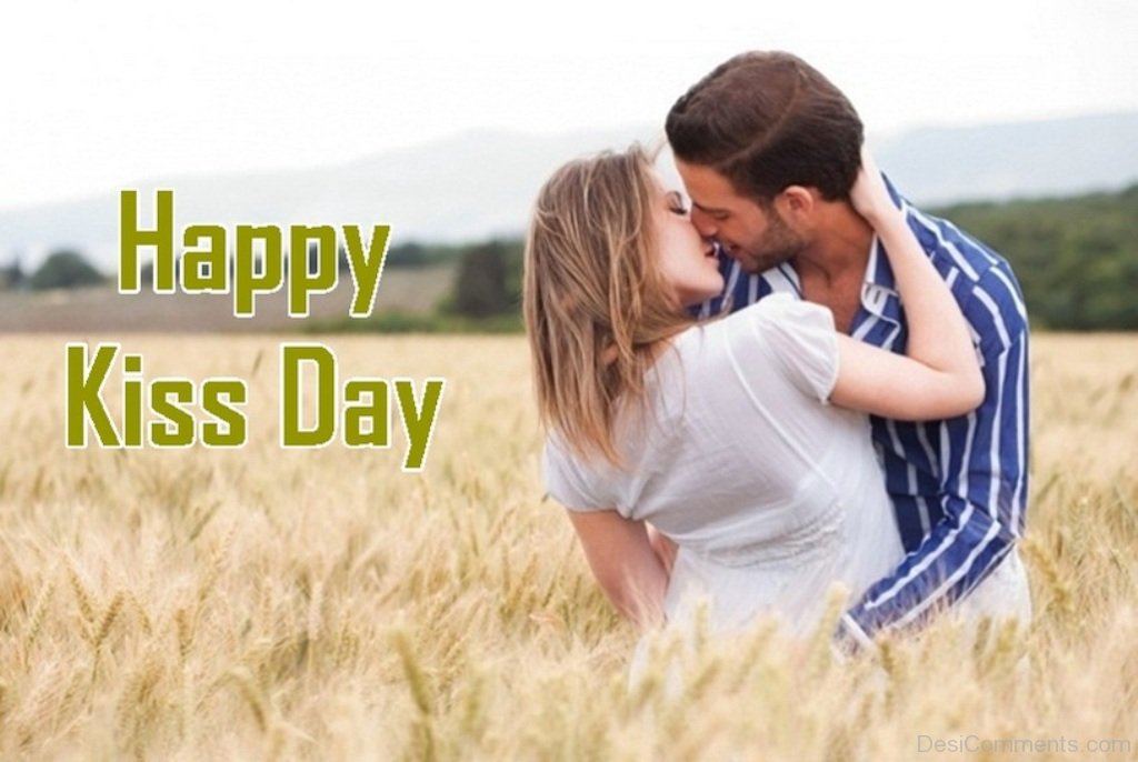 Happy Kiss Day Pic couple HD