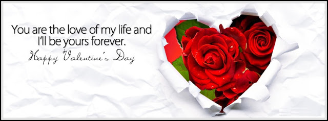 Happy Valentines Day Facebook Cover Photos