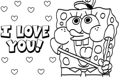 Love Valentines Day Coloring Pages to Print