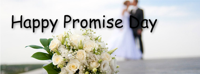 Happy Promise Day Facebook Cover Photo for Girlfriend