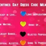 Valentine's Day Dress Color Code Meaning Which Color to wear (Guys & Girls)